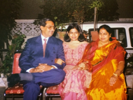 1998, My Parents' 25th wedding anniversary. We celebrated at home.